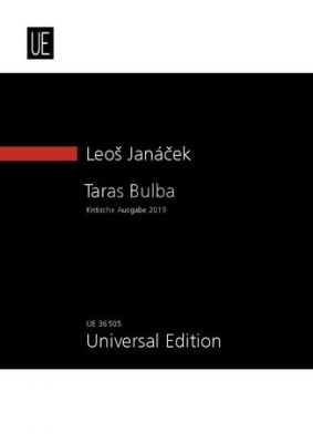Janacek Taras Bulba (Rhapsodie) Orchester Studienpartitur (Jirí Zahrádka)