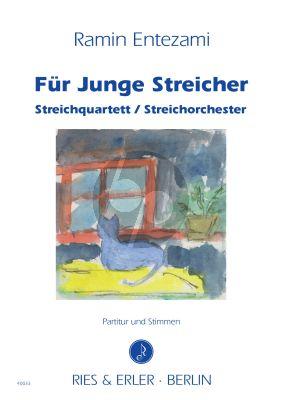 Entezami Fur Junge Streicher Partitur - Stimmen (Streichquartett / Streichorchester)