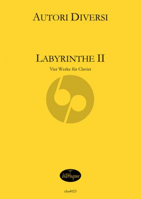Album Labyrinthe Vol.2 4 Werke fur Cembalo