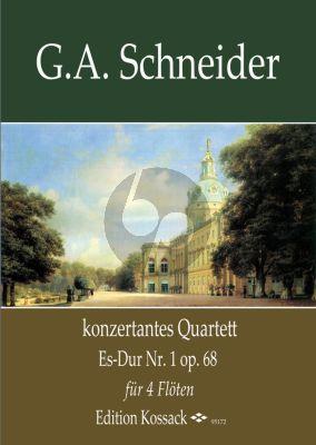 Konzertantes Quartett No.1 Es-dur Opus 68 4 Flöten