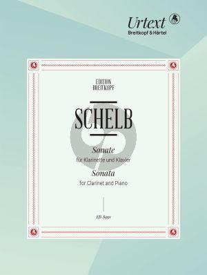 Schelb Sonate Klarinette und Klavier