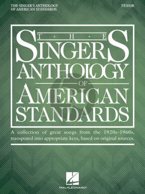 The Singer's Anthology of American Standards Tenor