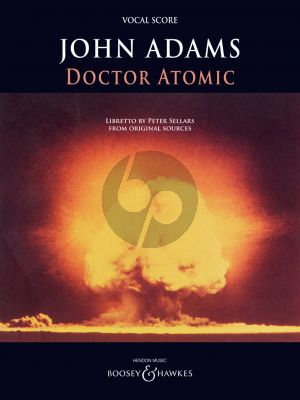 Adams Doctor Atomic Vocal Score (Opera in 2 Acts)