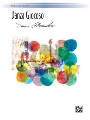 Alexander Danza Giocoso Piano 4 hds