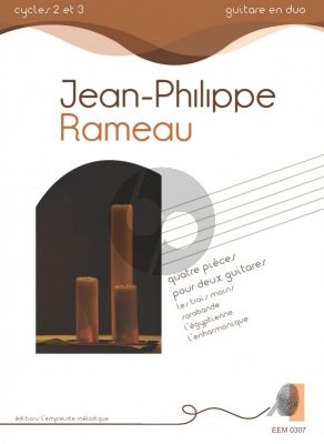 Rameau Quatre Pieces for 2 Guitars
