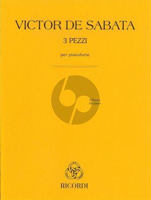 Sabata 3 Pezzi Piano