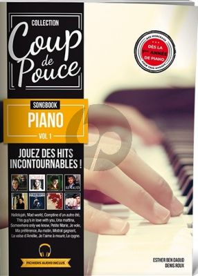 Songbook Piano Vol. 1 (Collection Coup de Pouce) (Book with Audio online)