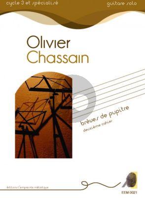 Chassain Breves de Pupitres Volume 2 for Guitar Solo