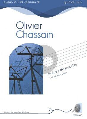 Chassain Breves de Pupitres Volume 3 for Guitar Solo