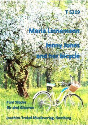 Linnemann Jenny Jones and her Bicycle 3 Gitarren (Partitur)