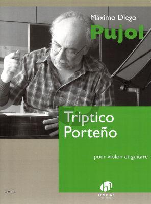 Pujol Triptico Porteno Violon et Guitare