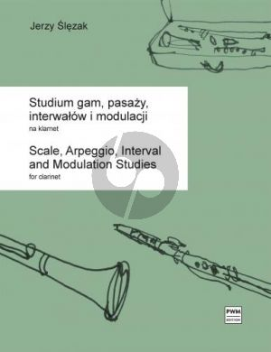 Slezak Study of Scales, Arpeggios, Intervals and Modulations for Clarinet