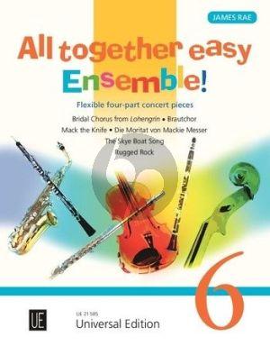 Ray All together easy Ensemble! for flexible ensemble / piano ad lib. (Score/Parts)
