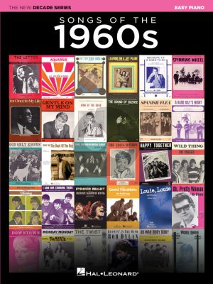 Songs of the 1960s Easy Piano (The New Decade Series)