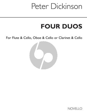 Dickinson 4 Duos for Flute or Oboe/Clarinet and Violoncello