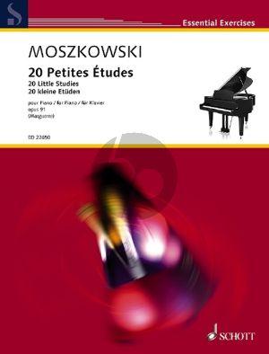 Moszkowski 20 petites Etudes Opus 91 Piano (edited by Philipp Marguerre)