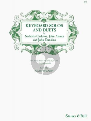 Keyboard Solos and Duets (edited by Alan Brown)