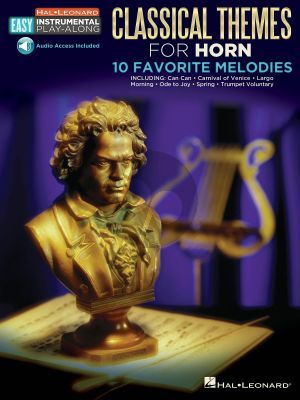 Classical Themes for Horn (10 Monumental Hits) (Book with Audio online)