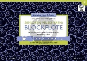 Hintermeier-Baude Senioren Musizieren Blockflote Vol.2 (Lehrgang fur Anfanger und spate Wiedereinsteiger) (Tenor- oder Altblockflöte) (Bk-Cd)