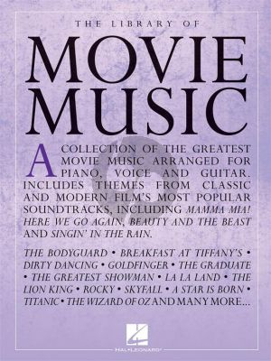 Library of Movie Music Piano-Vocal-Guitar
