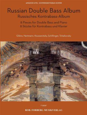 Russisches Kontrabass-Album (8 Stücke für Kontrabass und Klavier)
