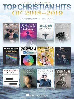 Top Christian Hits of 2018-2019 Piano-Vocal-Guitar