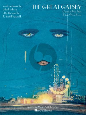 Harbison The Great Gatsby Vocal Score (Opera in 2 Acts)