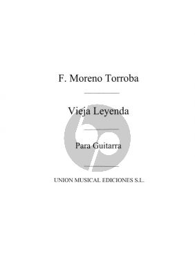 Moreno-Torroba Vieja Leyenda Guitarra