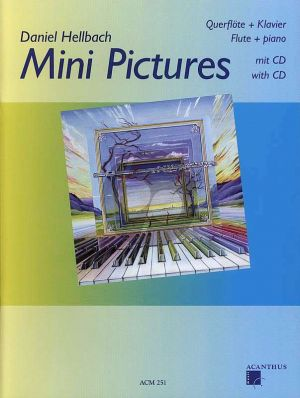 Hellbach Mini Pictures Volume 1 Dwarsfluit met Piano (Bk-Cd)