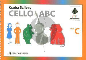 Szilvay Colourstrings Cello ABC Book C