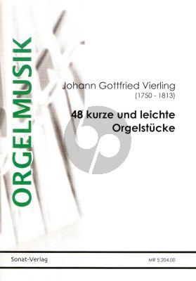 Vierling 48 kurze und leichte Orgelstücke (Stefan Rauh)