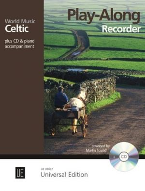 World Music - Celtic Play Along for Treble Recorder with CD or Piano accompaniment (Bk-Cd) (arr. Martin Tourish)