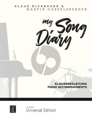 Dickbauer-Gasselsberger My Song Diary for Alto Saxophone Piano accompaniment