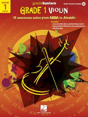 Gradebusters Grade 1 Violin (Book with Audio online)