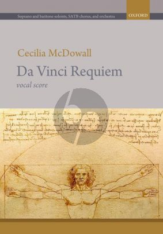 McDowall Da Vinci Requiem Soprano and Baritone soli-SATB-Orchestra (Vocal Score)