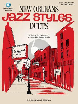 Gillock New Orleans Jazz Styles Duets (Bk-Cd)