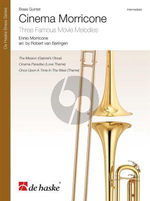 Cinema Morricone for Brass Quintet (Score/Parts) (arr. Robert van Beringen)