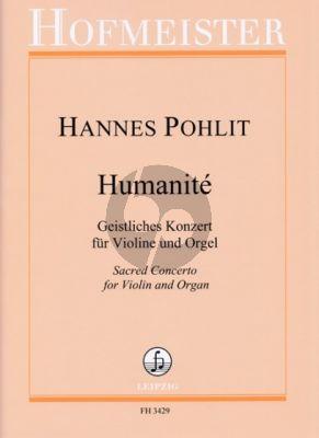 Pohlit Humantité Violine und Orgel