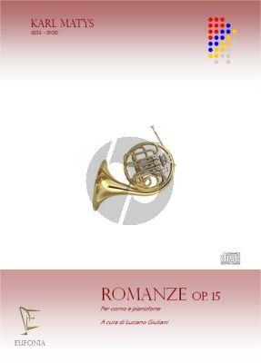 Matys Romanze Opus 15 Horn and Piano (edited by Luciano Giuliani)