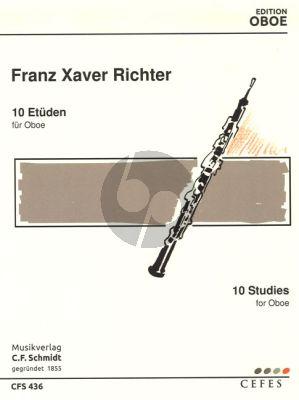 Richter 10 Etuden Oboe