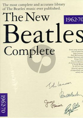 The New Beatles Complete Vol. 1-2 in slipcase (Piano-Vocal-Guitar)