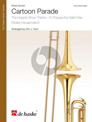 Cartoon Parade for Brass Quintet (Score/Parts) (arr. Eric J. Hovi)