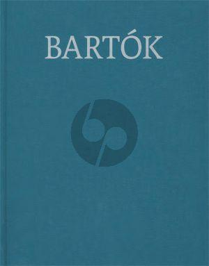 Bartok Works for Piano 1914-1920 (László Somfai) (Hardcover)
