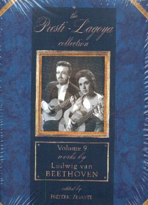 The Presti - Lagoya Collection Vol. 9 (Works by Ludwig van Beethoven for 2 Guitars) (Score/Parts)