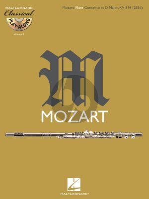 Mozart Concerto D-major KV 314 Flute and Orchestra (Bk-Cd)