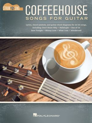 Coffeehouse Songs for Guitar (44 hit songs for strum and sing)