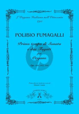 Fumagalli Primo tempo di sonata e due fugati per organo (edited by Manuel Canale)