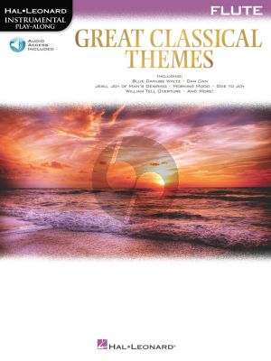 Great Classical Themes for Flute (Book with Audio online)