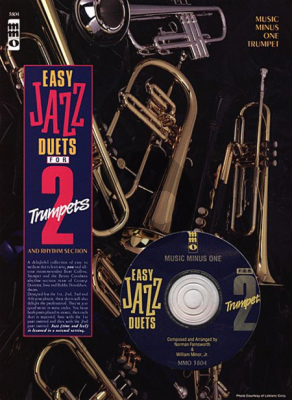 Album Easy Jazz Duets for 2 Trumpets and Rhythm Section (Book-Cd Music Minus One)