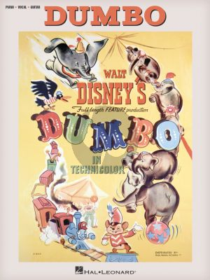 Dumbo - Music from the Full Length Feature Production (Piano-Vocal-Guitar)